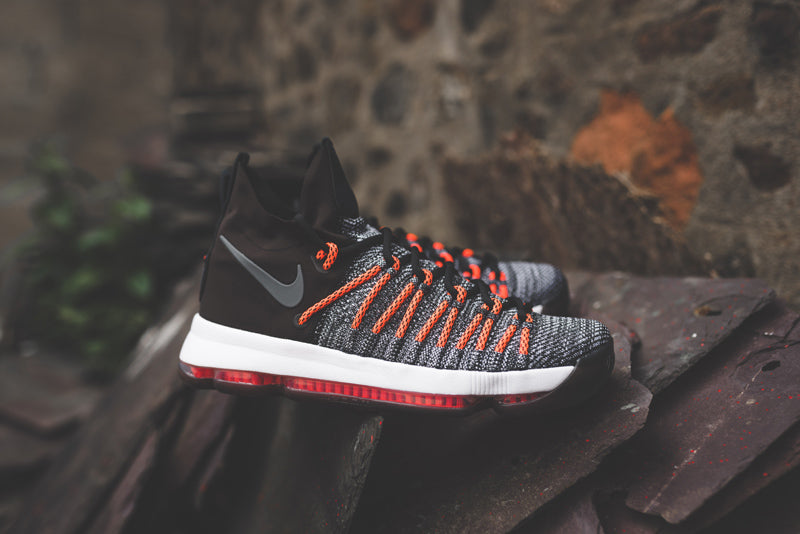 e1a2f4fb13c ... good nike zoom kd 9 elite 878637 010. black white dark grey hyper orange  launch