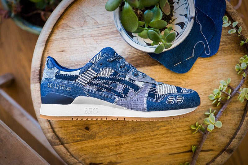 "0799693907fb Asics Gel-Lyte III ""Ranru"" HN7T0-4958. INDIGO BLUE PEACOAT Launch  Saturday  17th June 15 00BST"