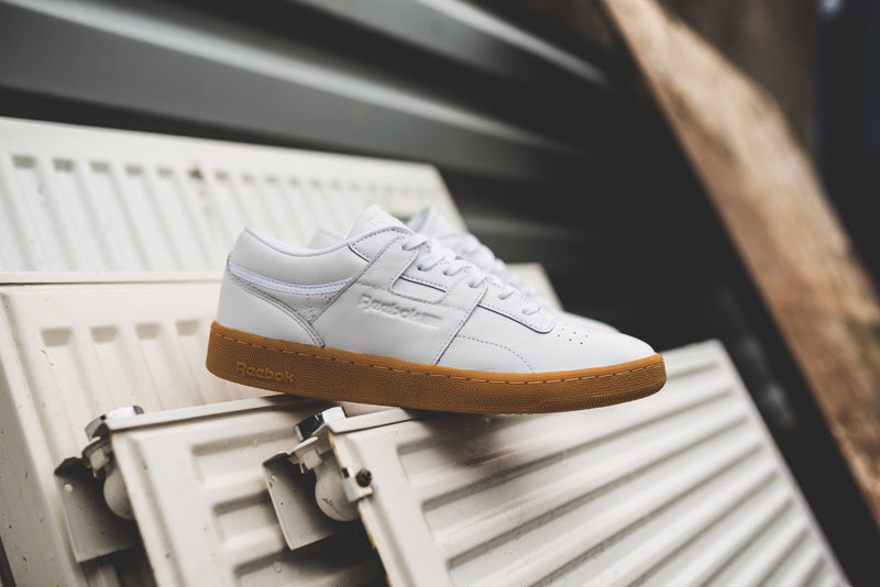 """Reebok Club Workout """"White/Gum"""" and"""