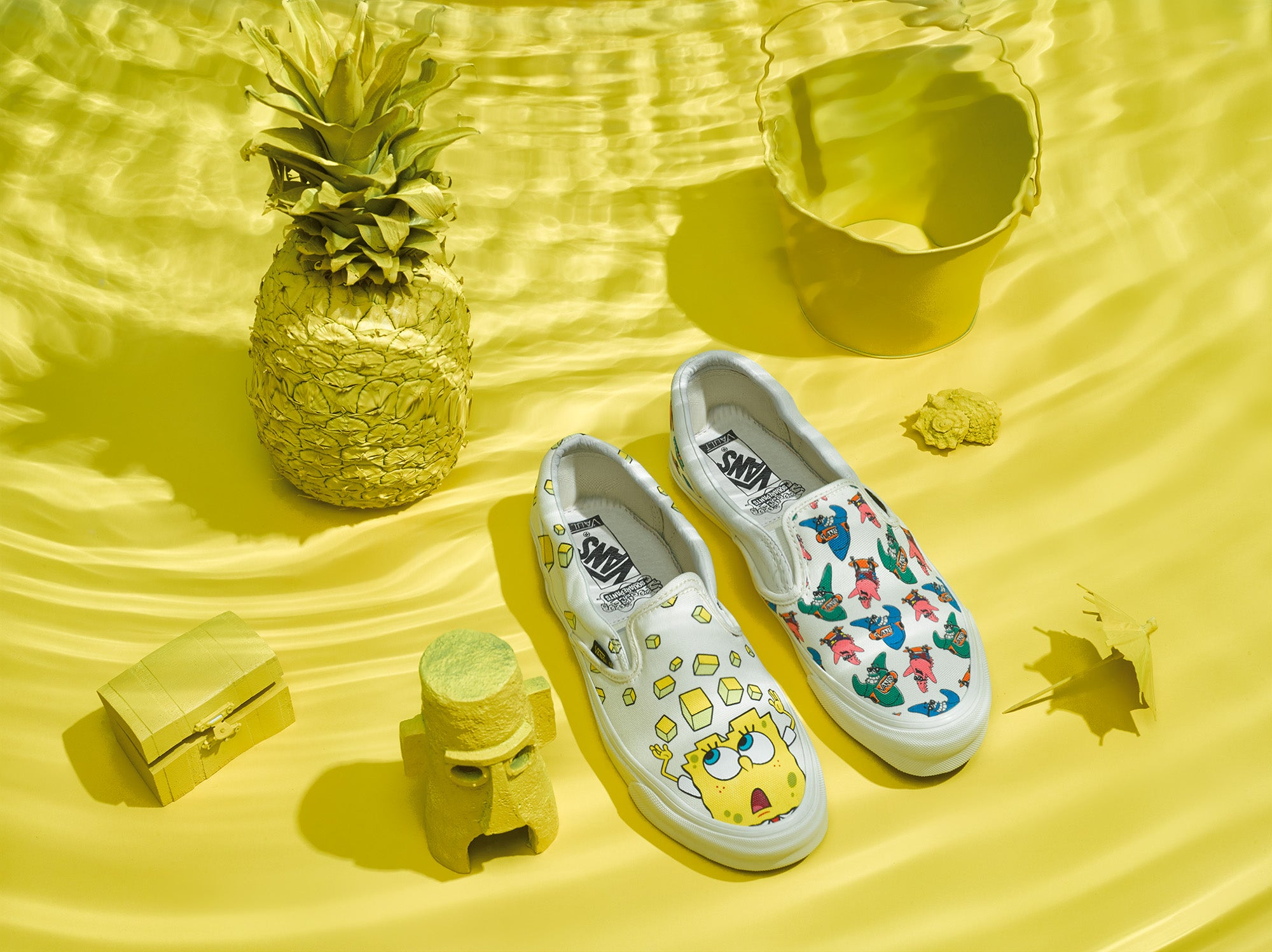 Vans x SpongeBob SquarePants OG Classic Slip On | my life