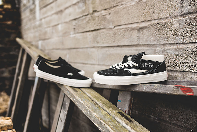 "da73d0b32bec Vans Vault UA OG Authentic LX and Half Cab ""Black Suede"" – Hanon"