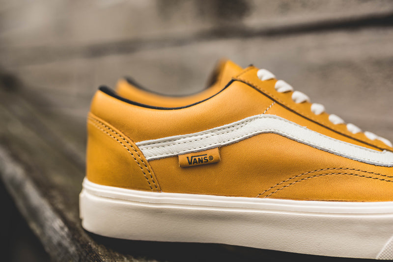 531187f738 Vans UA Old Skool Lite LX VA3DPYONG (HORWEEN) OLD GOLD Price  £135.00.  Launch  Saturday 26th August 00 01BST