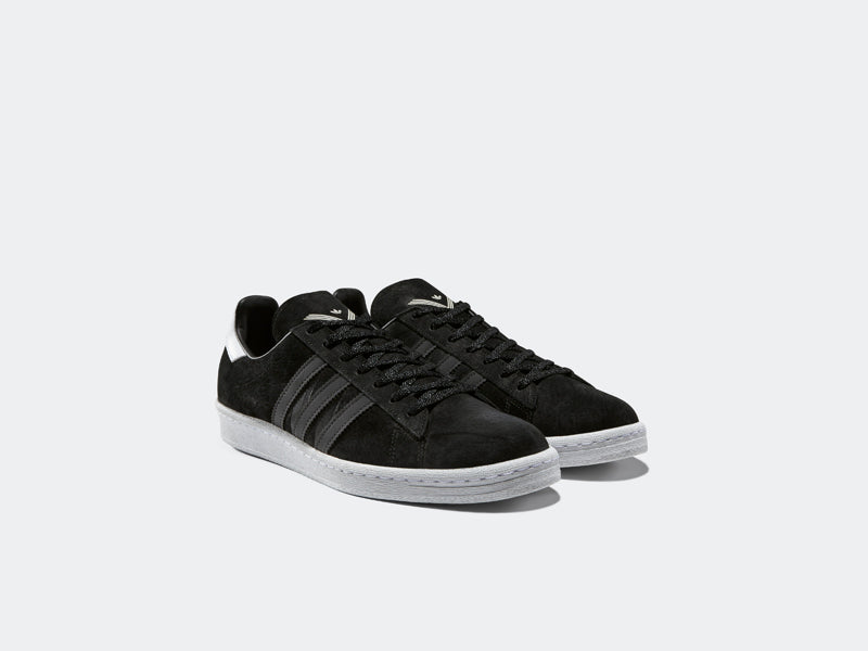 b4177af26 Adidas Campus 80 s x White Mountaineering BA7516 CORE BLACK UTILITY BLACK  F16 FTWR WHITE Launch  Thursday 19th January 2017 00 01GMT