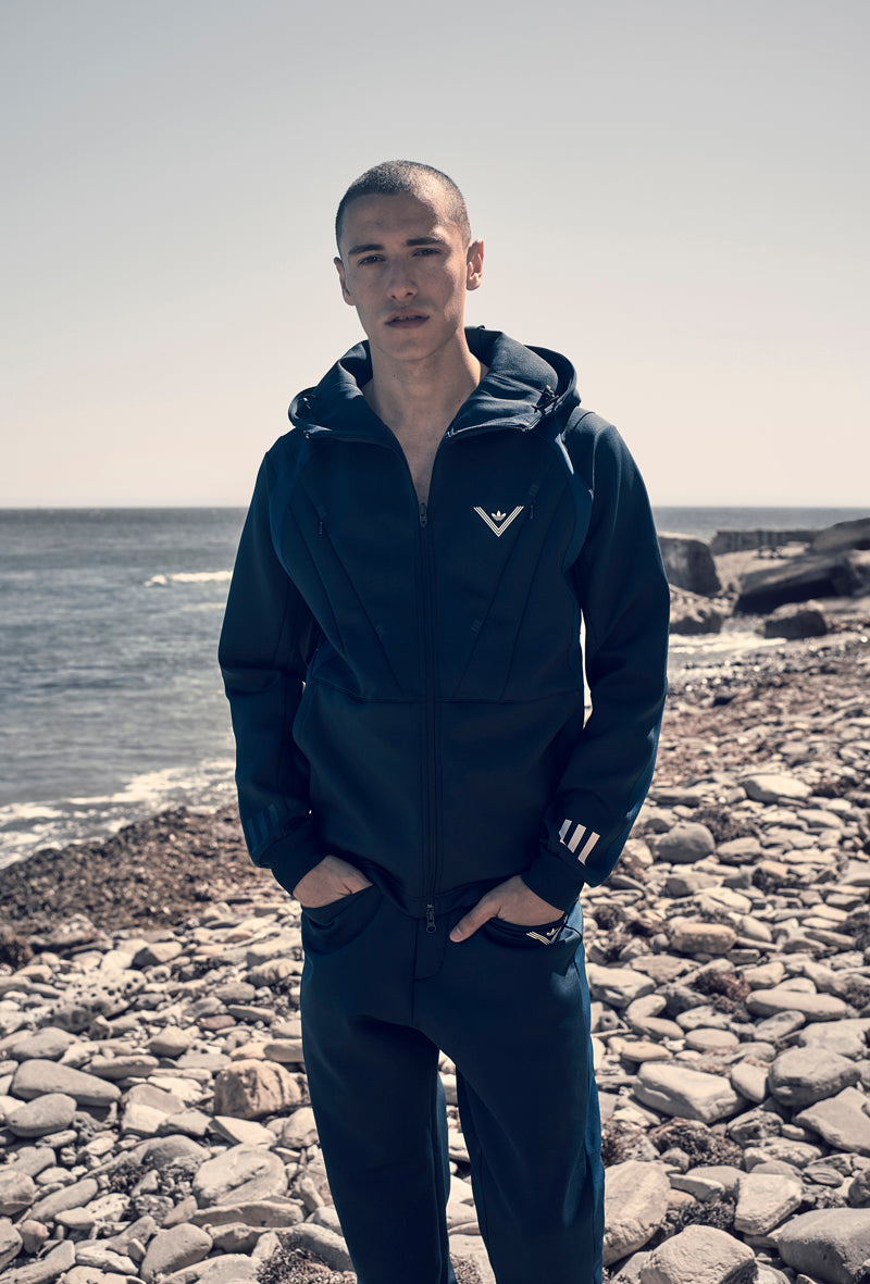 19ee0a5f3412 White Mountaineering will reinterpret adidas Originals classic styles  including hooded track tops, windbreakers, logo t-shirts, crew sweats,  trackpants and ...