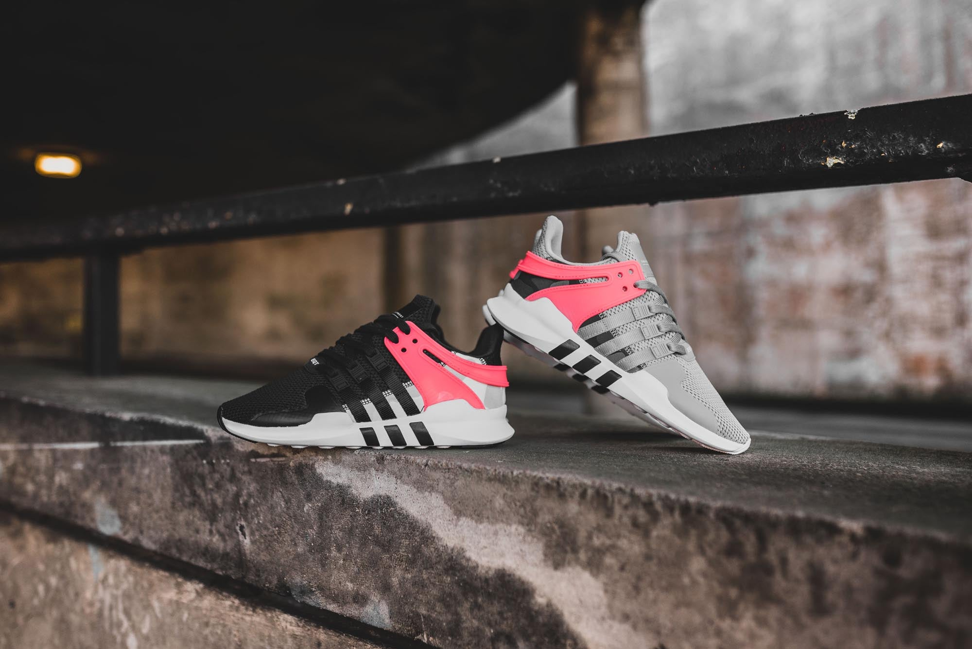 "best website 8e894 bf005 This Spring, adidas bring us two more takes on the EQT Support ADV  resplendent with their ""Turbo Red"" colourway."