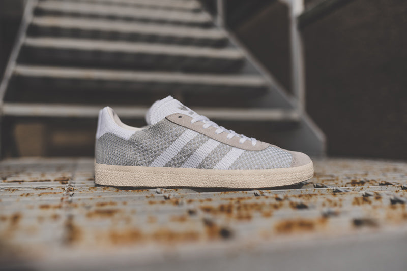 hot sales e79b3 ab940 A streamlined evolution of an already-simple style, these Gazelle shoes  feature a premium adidas Primeknit upper.