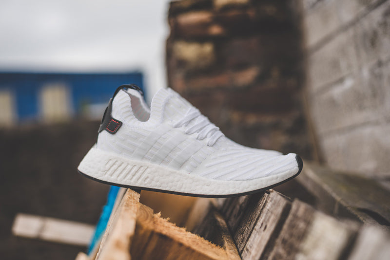 2edd8093b Adidas NMD R2 Primeknit BY3015 FTWR WHITE CORE BLACK FTWR WHITE Launch   Saturday 10th June 00 01BST Price  £149.00