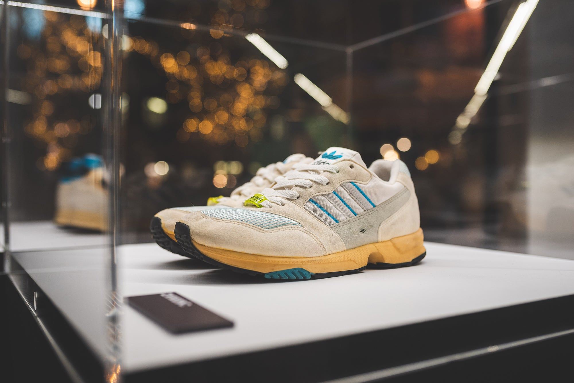 fa03c0a07 Check out some of our favourite pieces from the exhibition below. Thanks to  those behind the exhibition for the words above and to adidas for having us.