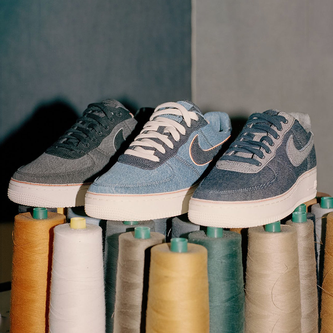 finest selection 9e27a ac0a0 Nike Air Force 1 x 3x1 Denim