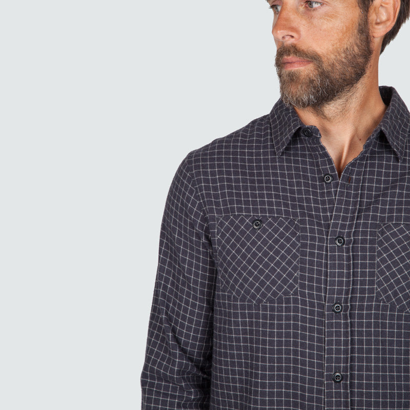 lantic_shirt_mono_check_m_onbody_detail