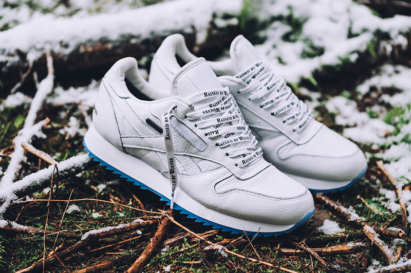 c58711a07a9 Reebok Classic Leather Ripple GTX x Raised by Wolves CN0250 WHITE BLACK  Price  £129.00. Launch  Saturday 16th December 00 01GMT