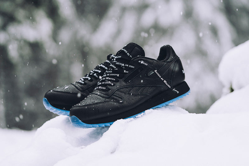 c091c259ad3 Reebok Classic Leather Ripple GTX x Raised by Wolves CN0253 BLACK WHITE-ICE  Price  £129.00. Launch  Saturday 16th December 00 01GMT