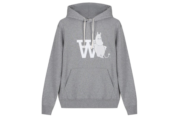 Wood Wood Ian Hooded Sweatshirt x The Moomins