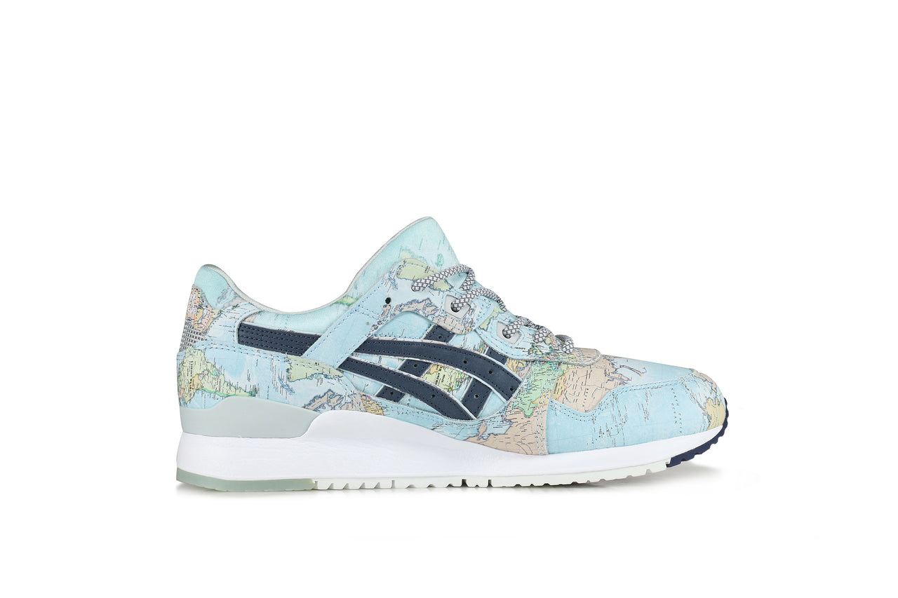 "Asics Gel-Lyte III x Atmos ""World Map"""