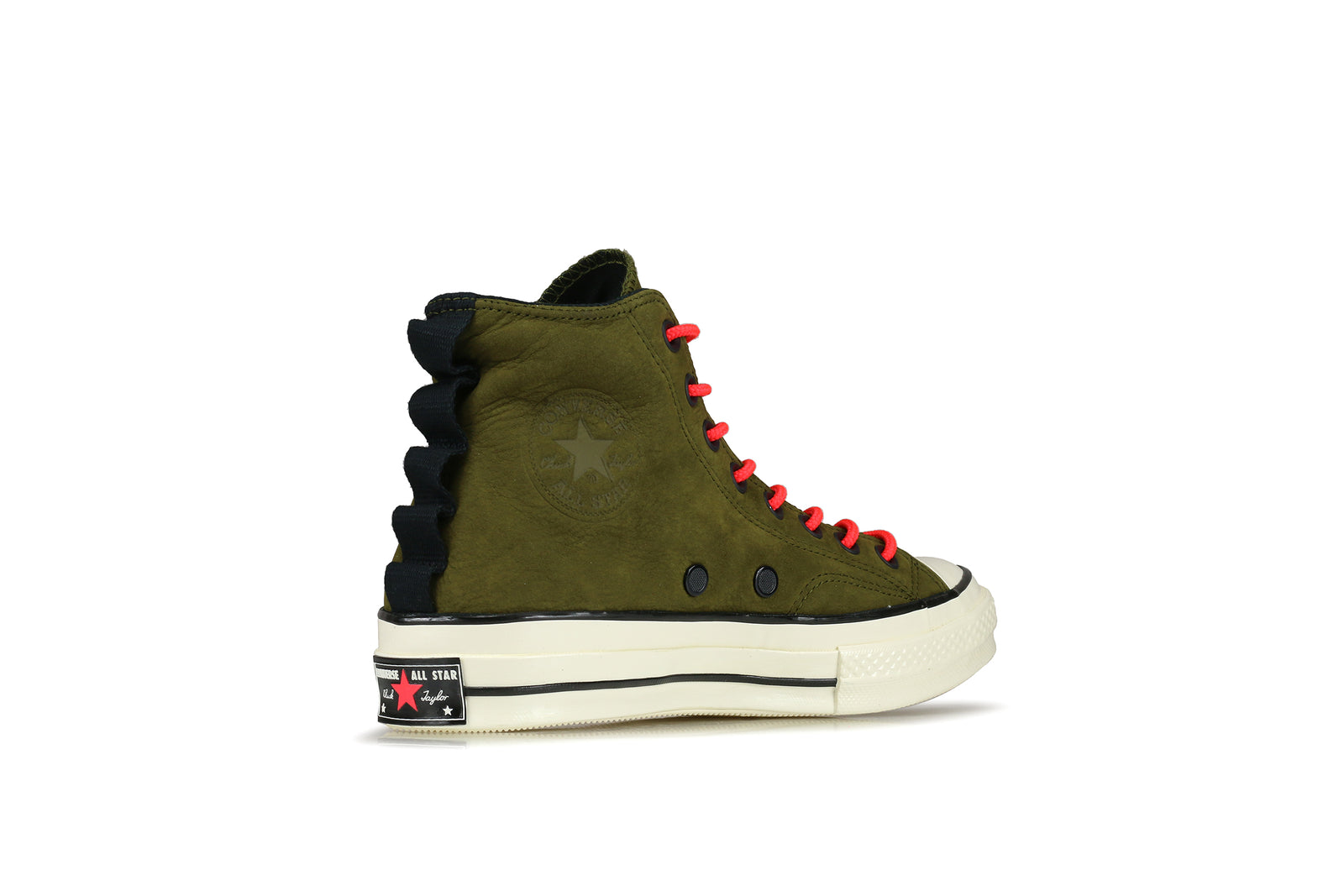 Converse Nubuck Leather Chuck 70 in Black for Men - Lyst