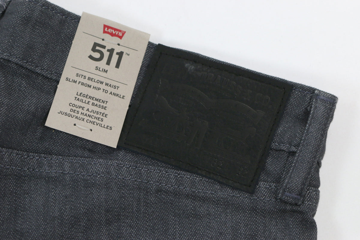 Levi Commuter CM 511 5PKT Grey Denim Eco