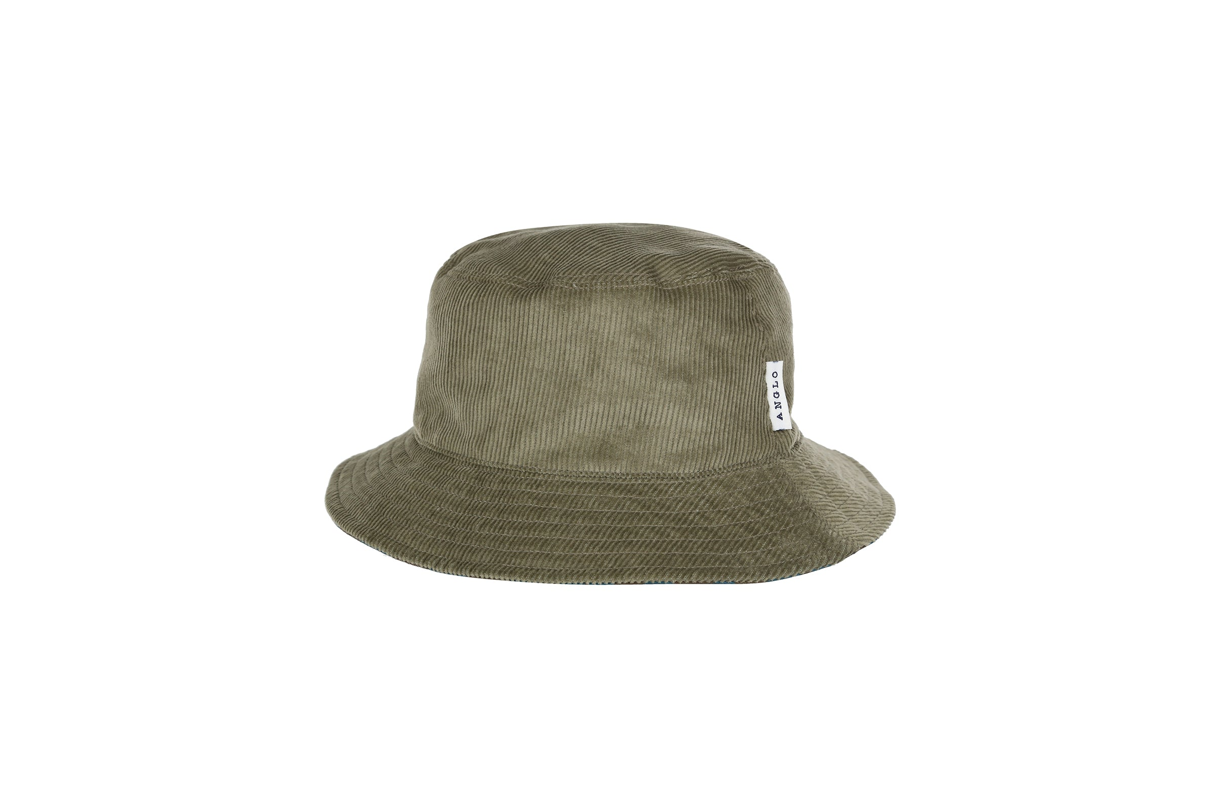 Anglozine Bob Reversible Cord Hat