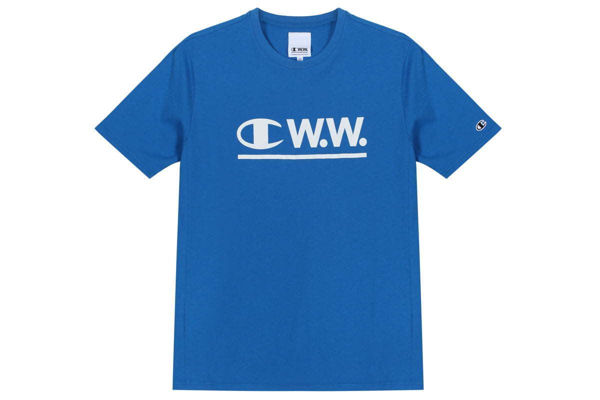 Champion x Wood Wood SS Crewneck Tee