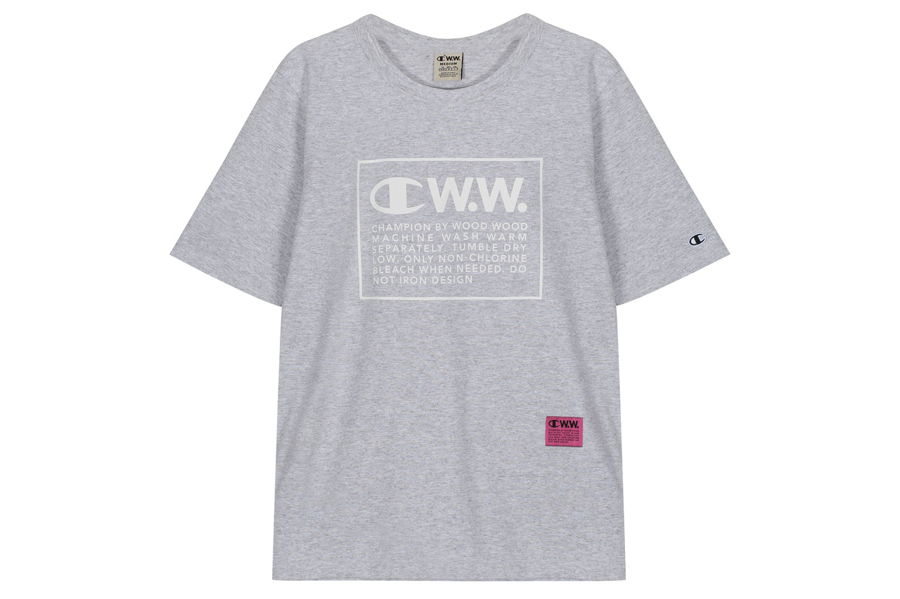 Champion SS Tee x Wood Wood