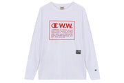 Champion LS Tee x Wood Wood