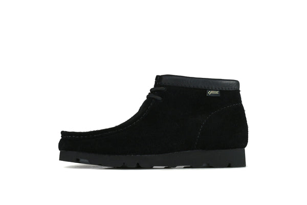 "Clarks Wallabee Boot GTX ""Black Suede"""