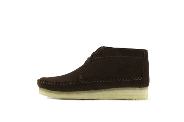 "Clarks Weaver Boot ""Brown Suede"""
