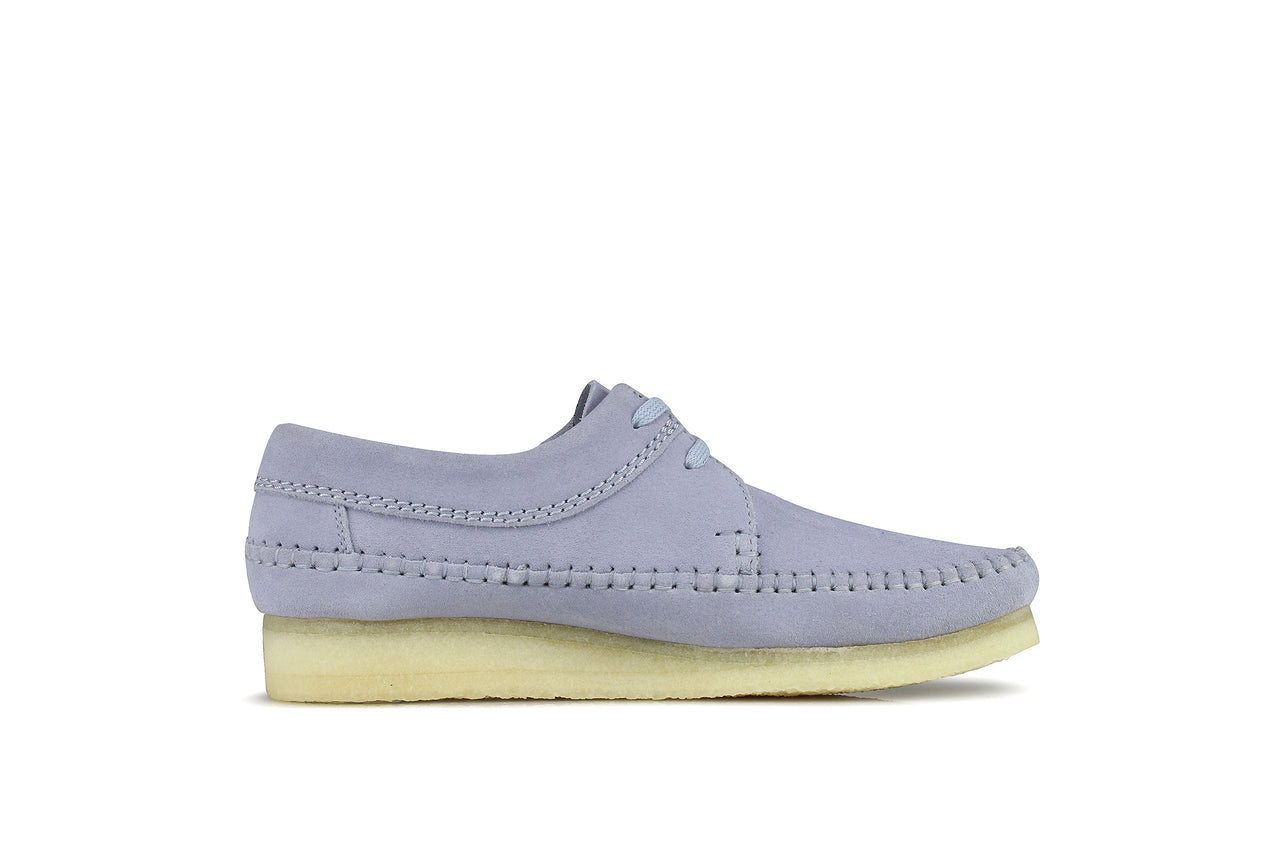 "Clarks Weaver ""Cool Blue Suede"""