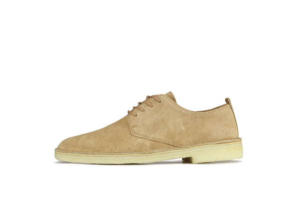 "Clarks Desert London ""Light Tan Suede"""