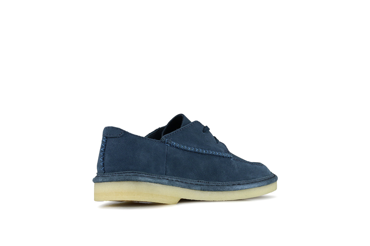 "Clarks Walbridge Easy ""Deep Blue Suede"""