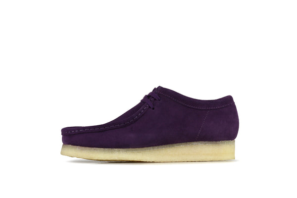 "Clarks Wallabee ""Deep Purple Suede"""