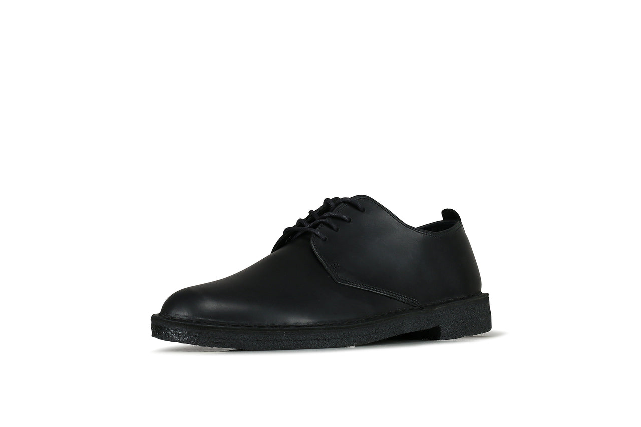 "Clarks Desert London ""Black Polished"""