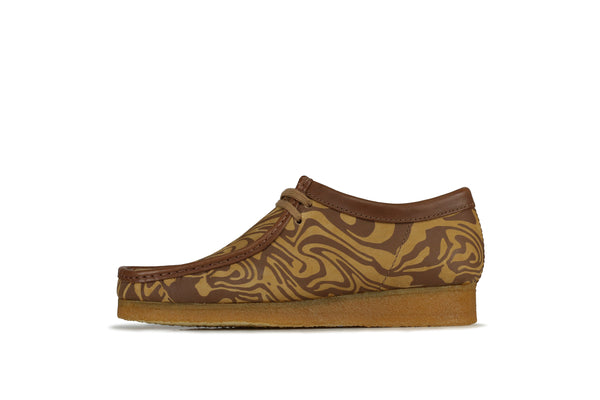 "Clarks Wallabee x Wu Wear ""Brown Multi"""