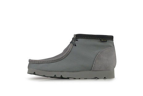 "Clarks Wallabee Boot GTX ""Light Grey"""