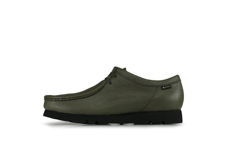 "Clarks Wallabee GTX ""Olive Leather"