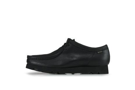 "Clarks Wallabee GTX ""Black Leather"""