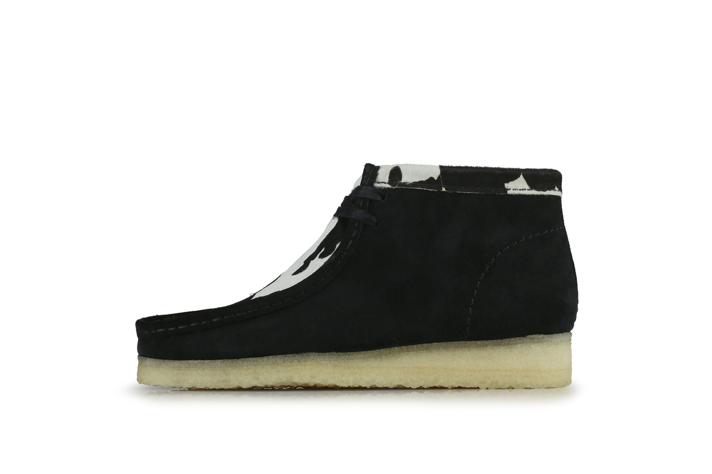 "Clarks Wallabee Boot ""Cow Print"""