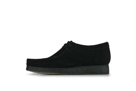 "Clarks Wallabee ""Black Suede"""