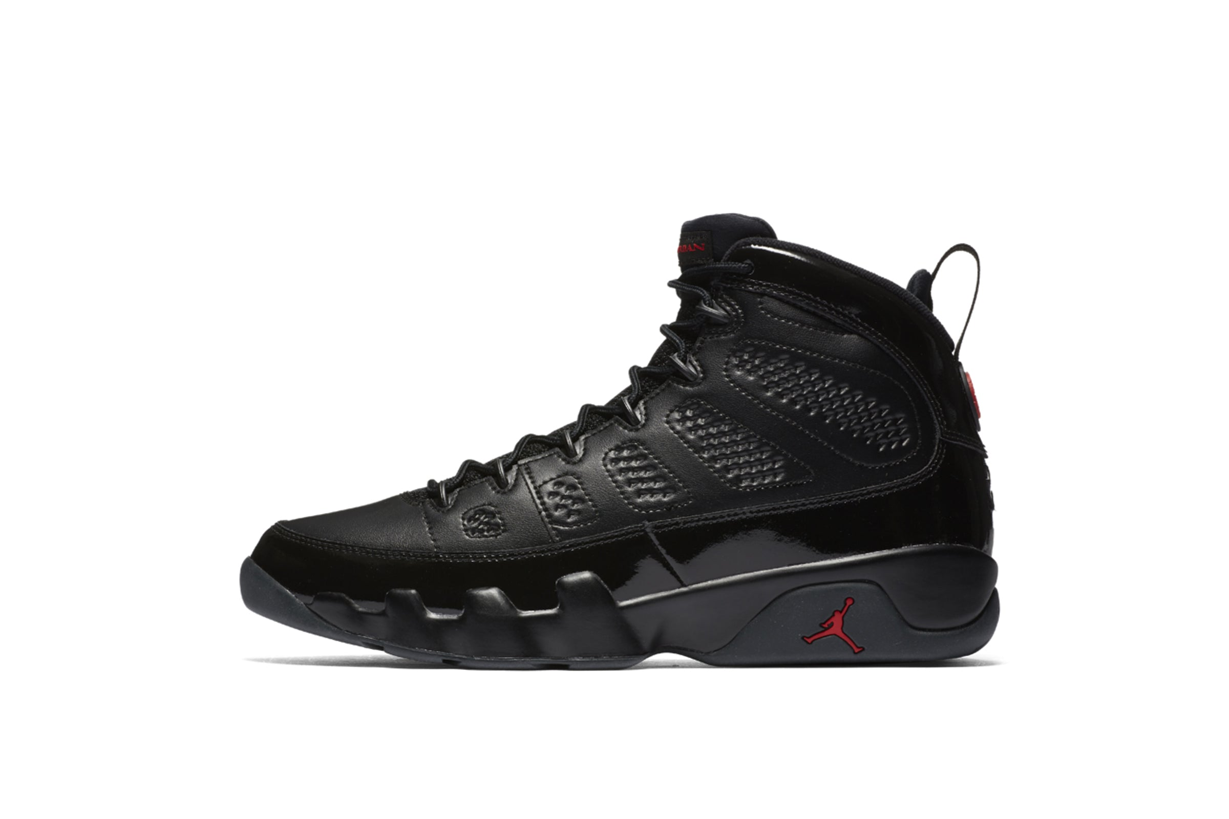 "Nike Air Jordan 9 Retro ""Black/University Red"""