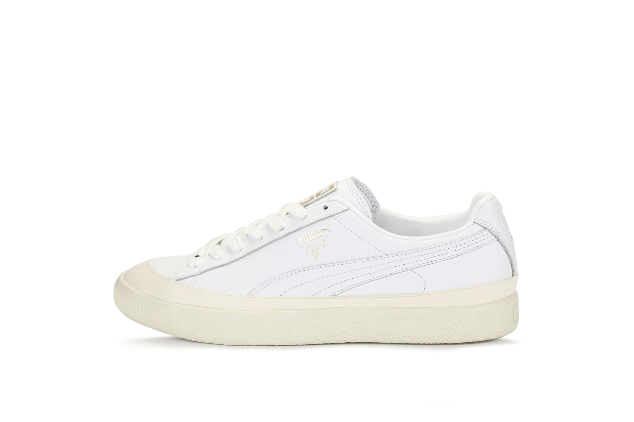 buy popular 9e622 239bf Puma Clyde Leather Rubber Toe