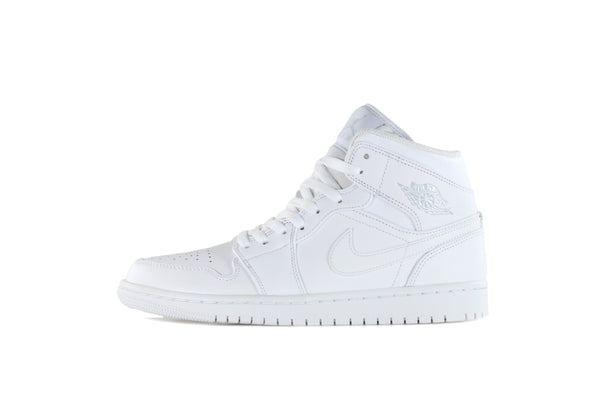 "Nike Air Jordan 1 Mid ""Pure Platinum"""