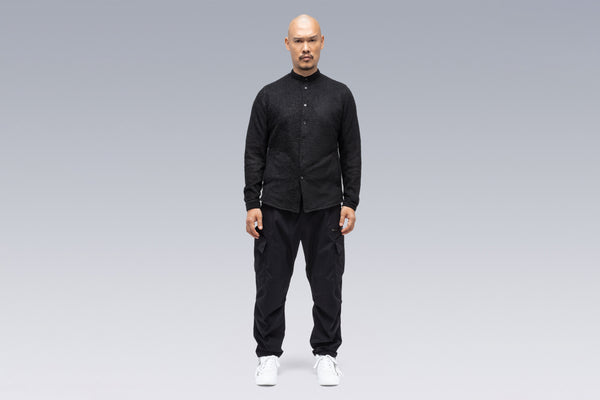 Acronym LA6B-AD Lofted Knit Fiber Long Sleeve Shirt