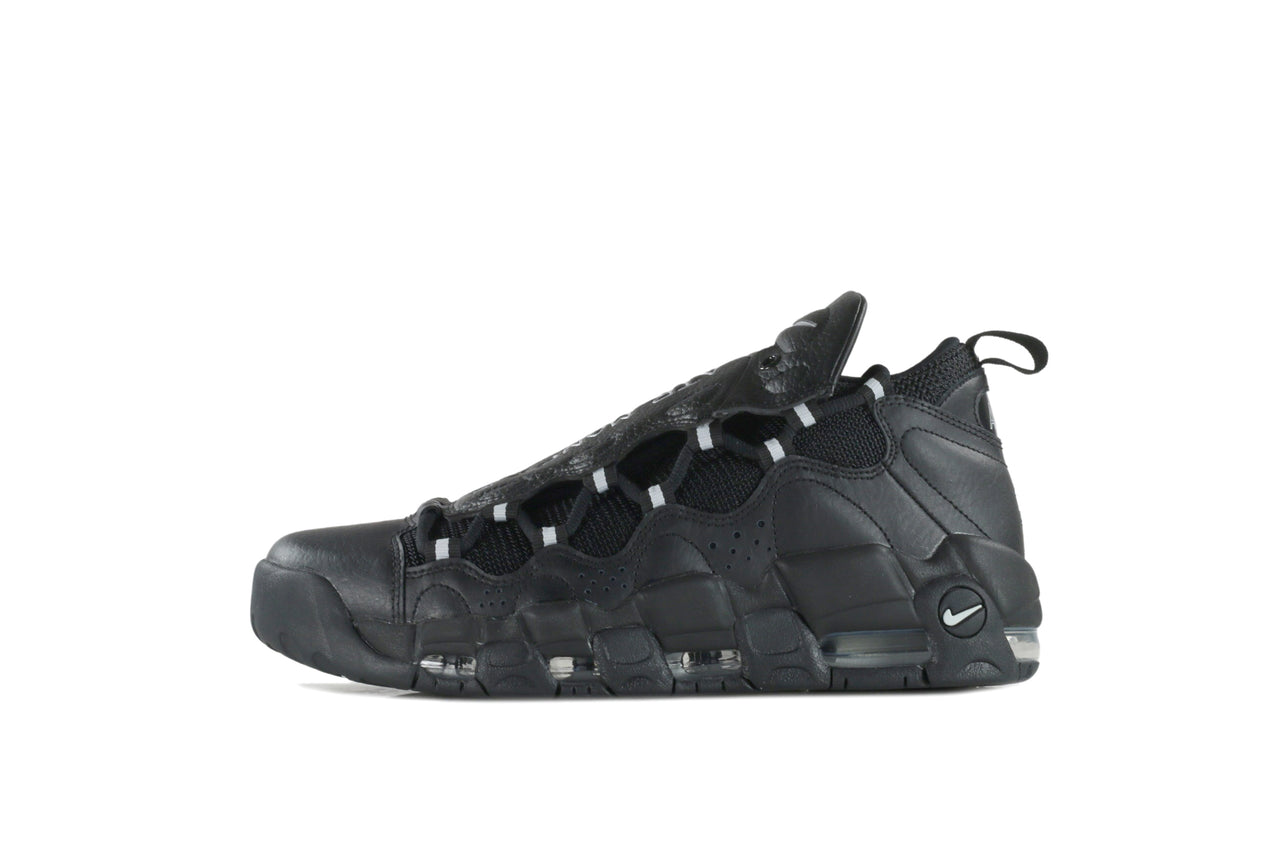 "Nike Air More Money ""Black/Metallic Silver"""