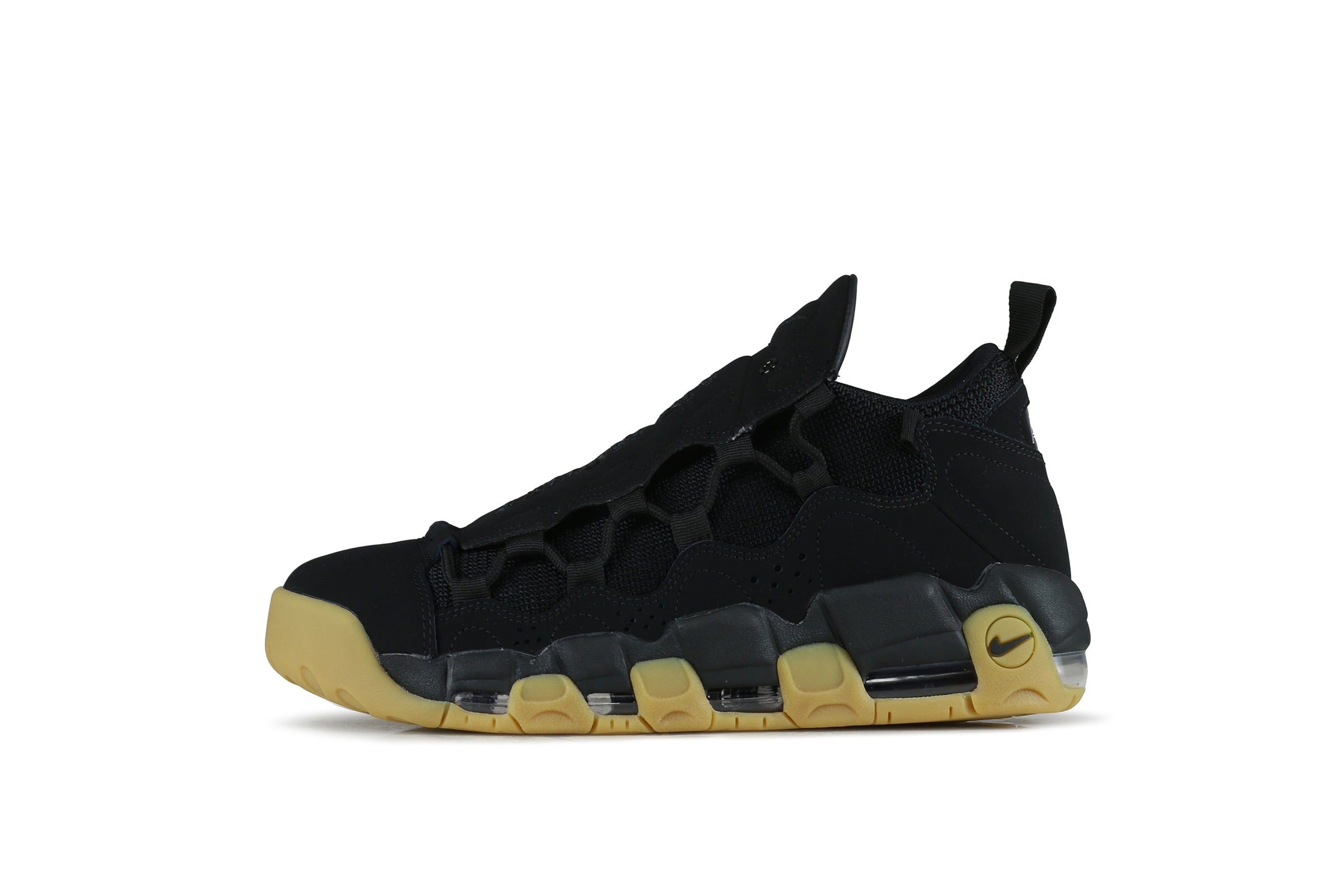 "Nike Air More Money ""Black/Gum"""