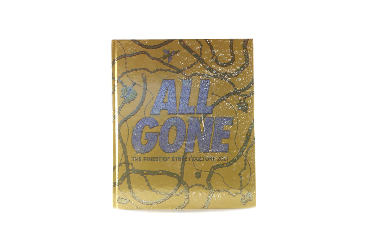 All Gone 2017 Book Gold