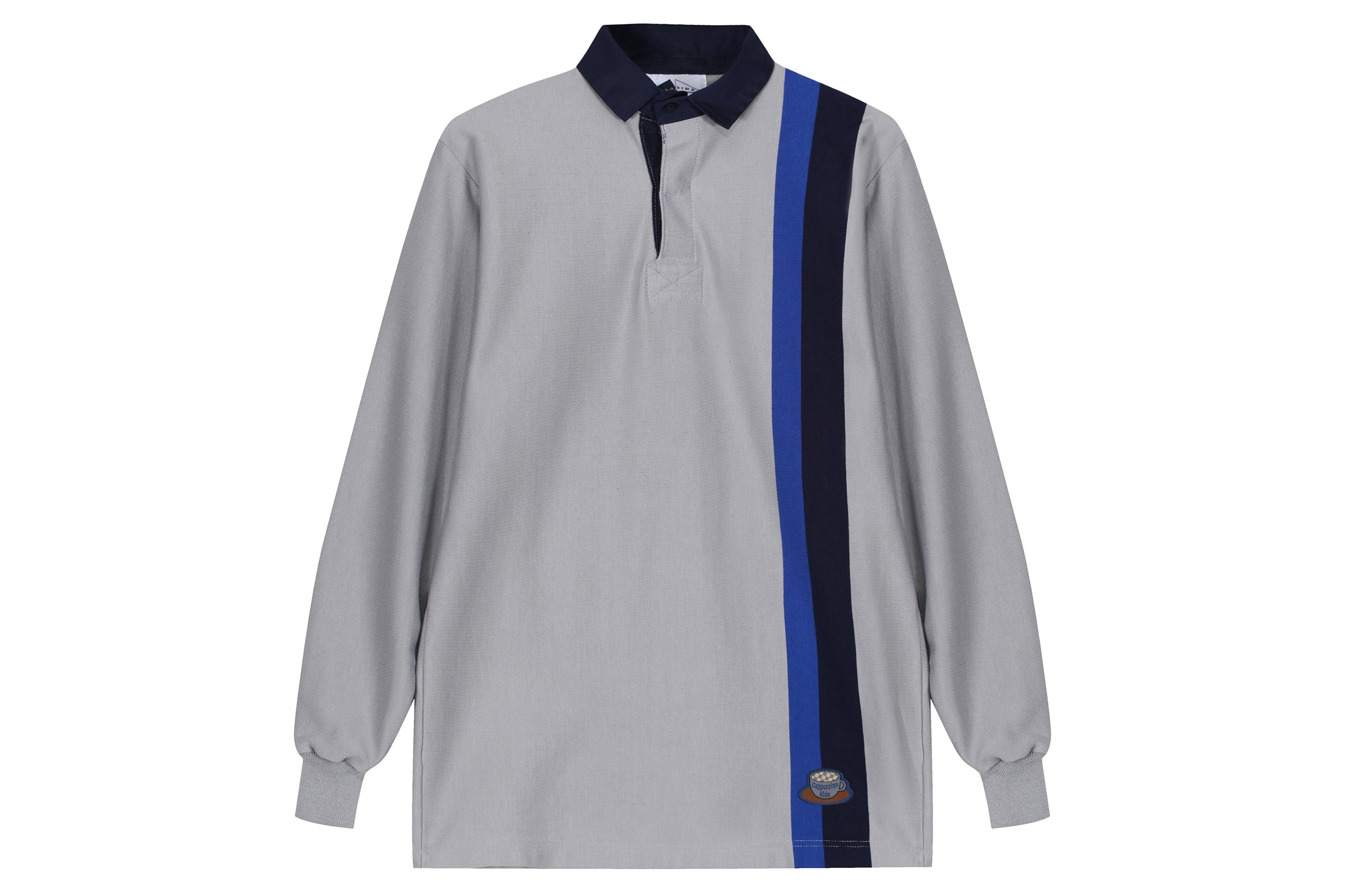 Anglozine Vertical Stripe Rugby Shirt