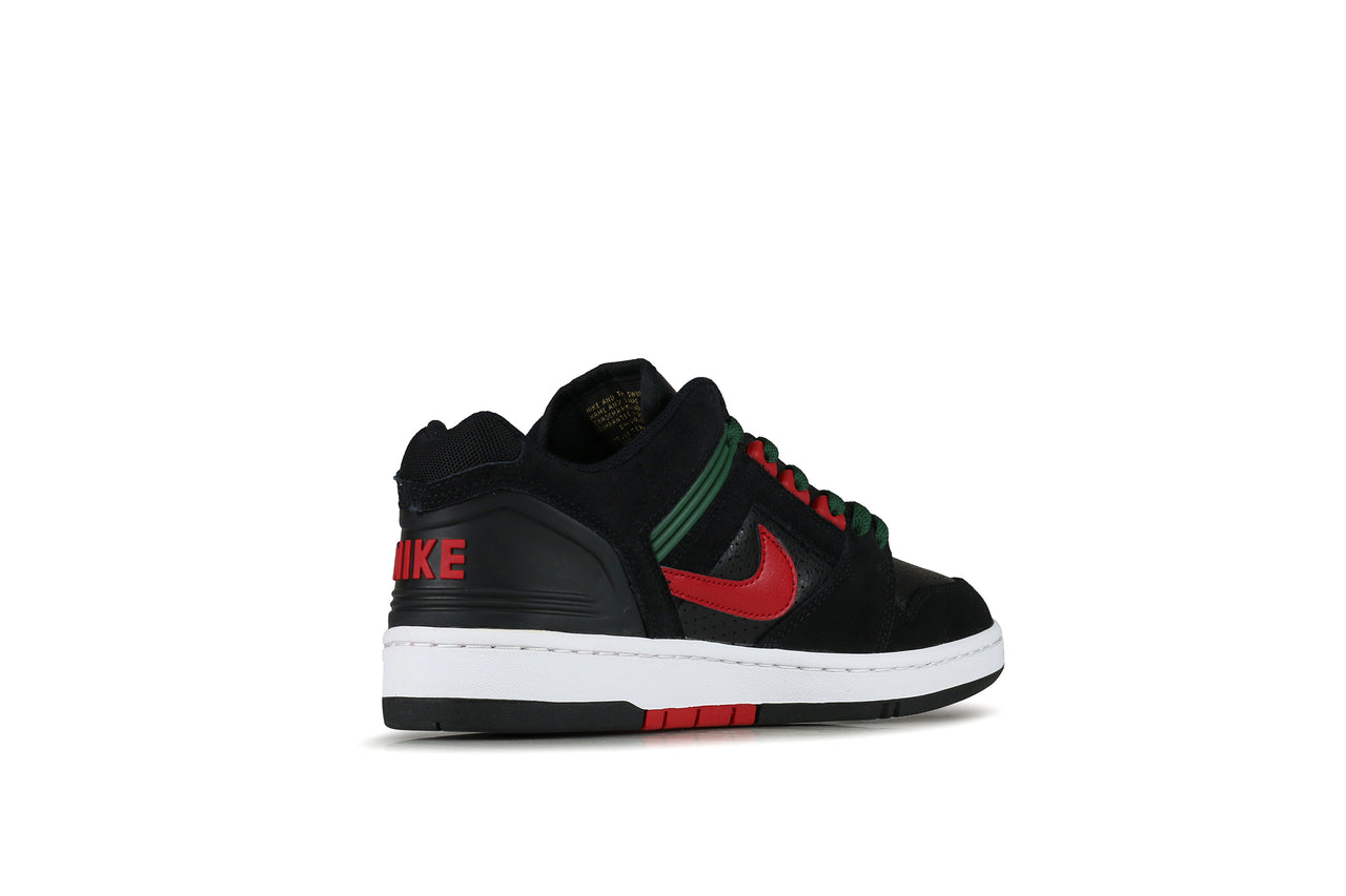 "Nike SB Air Force II Low ""Black/Gym Red"""
