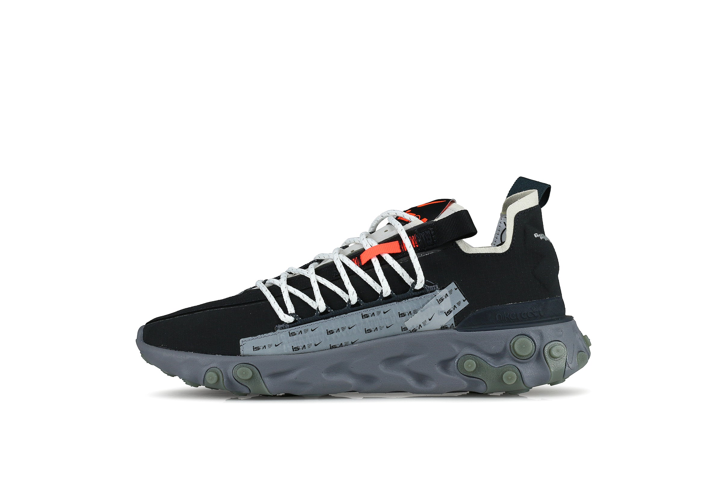 "Nike React WR ISPA ""Black/Metallic Silver"""