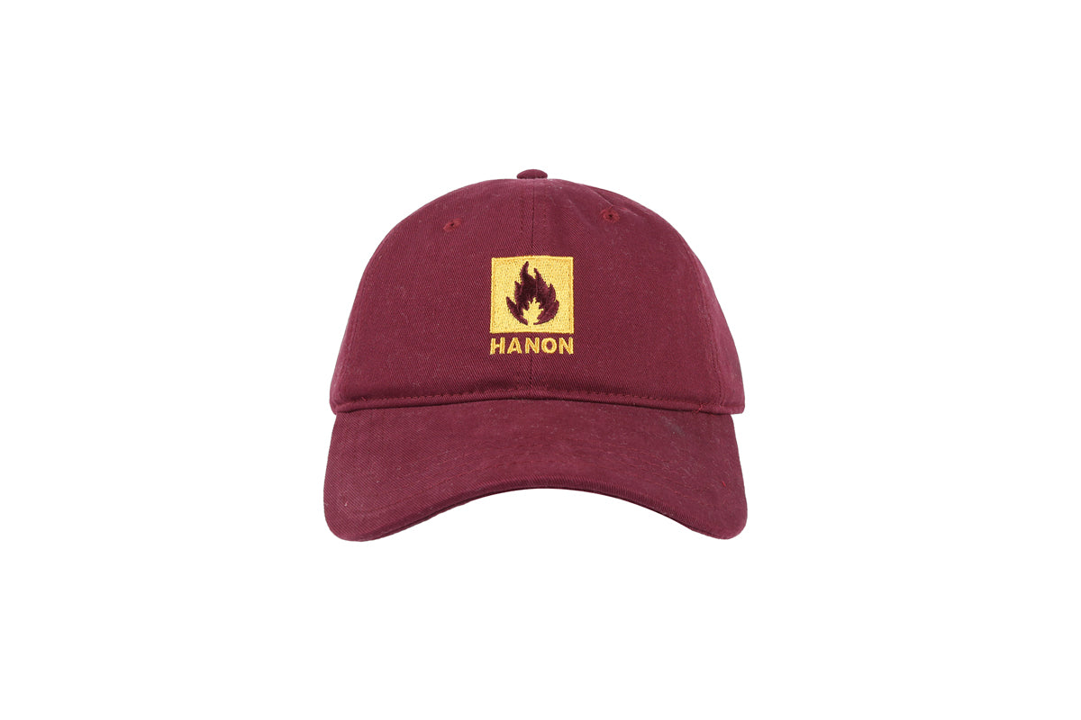 Hanon Box Logo 6-Panel Adjustable Cap