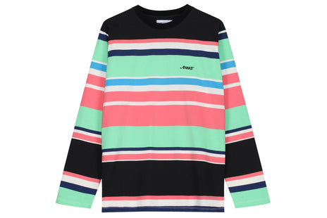 Awake Embroidered Logo LS Striped Tee