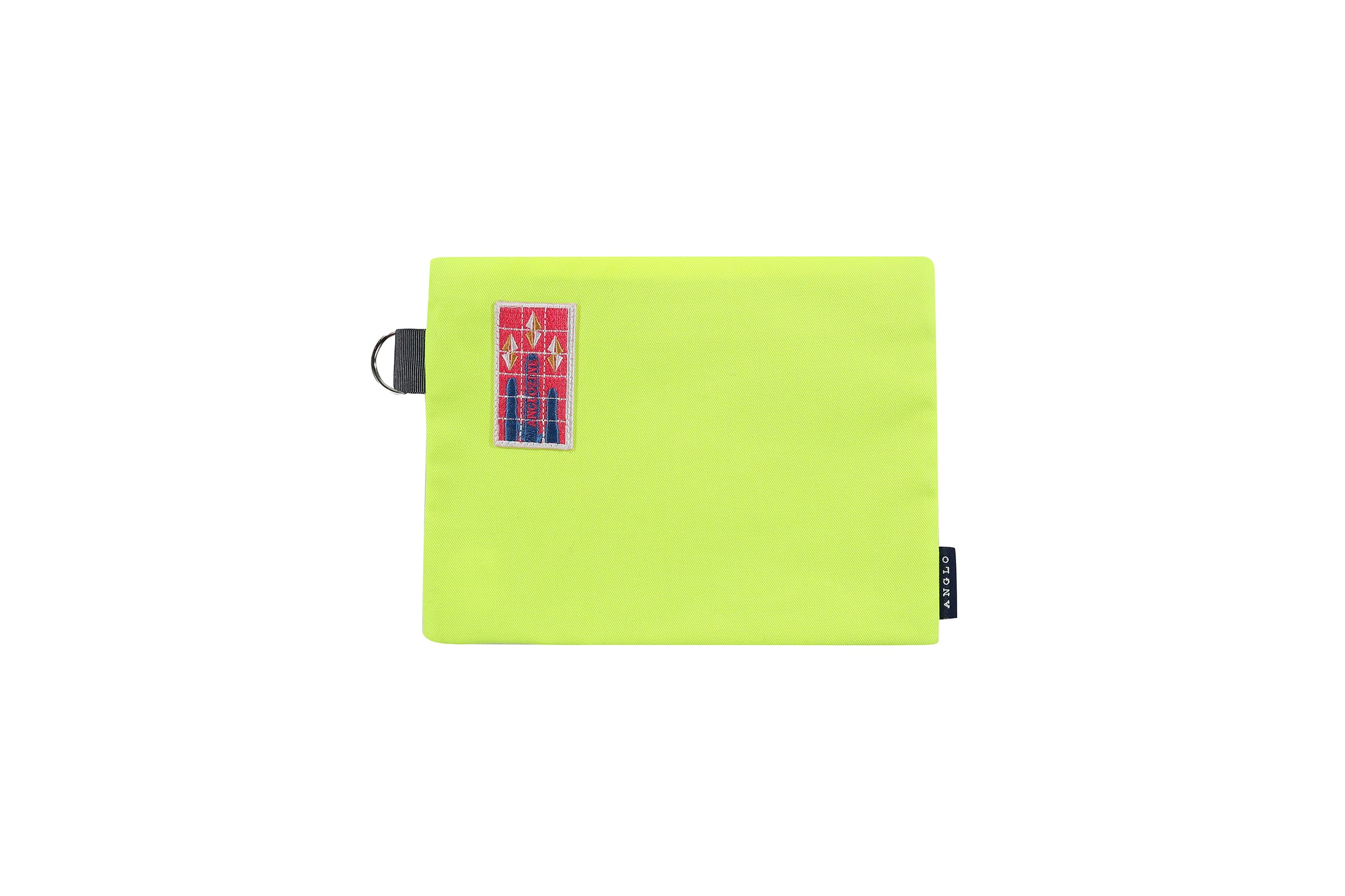 Anglozine Flavin D-Ring Travel Pouch
